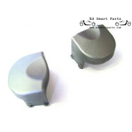 Plastic Screw Covers for the Smart Roadster Coupe glass boot lid hinge. Pack of 2.