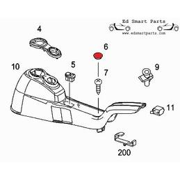 Smart roadster tornillo...
