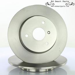 Coppia dischi freno anteriore