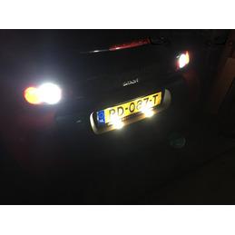 Luz reversa de giro dual LED