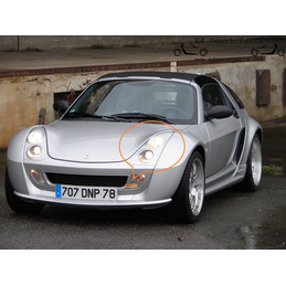Smart Roadster headlight...