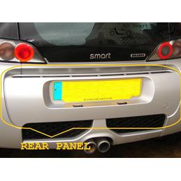 Smart Roadster Brabus Rear...