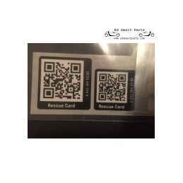 QR-code redding sticker...