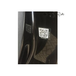 QR code rescue sticker...