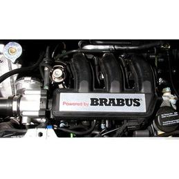 """""""Powered by Brabus"""" - placa de decoración del motor - para fortwo 450 y roadster 452"""
