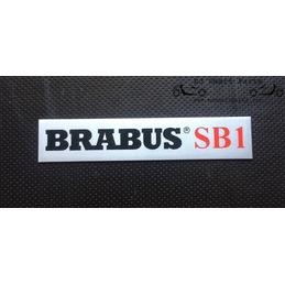 """""""Brabus SB1"""" Brabus placa..."""
