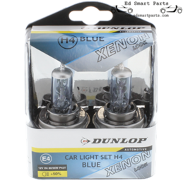 2x Dunlop H4 Halogen Xenon...