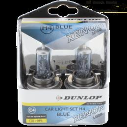 2x Dunlop H4 halógeno xenón...