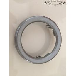 Smart roadster Tableau de bord Pod Trim Rings (paire) Aluminium Matt Anodisé