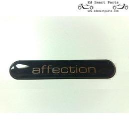 Smart roadster Affection externaufkleber Logo