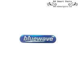 Emblema do adesivo do triângulo do espelho externo bluewave