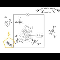 générateur d'alternateur de couverture SMART roadster