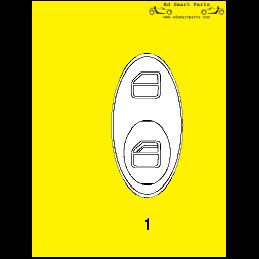 Smart Roadster 452 interior...