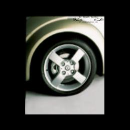 Smart Roadster antenna rubber grommet Black Plastic Base