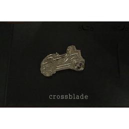 Smartware Crossblade pin silver color