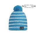 Smart sombrero de punto de pasión - azul