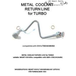 Neues KühlmittelRohr Turbo...