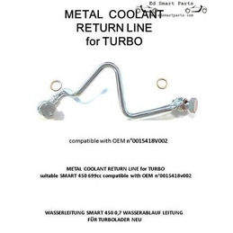New Coolant Pipe Turbo to...