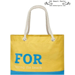Smart  Beach Bag  Yellow/blue