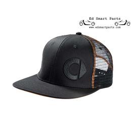 originele Smart accessoire - Flat Brim Cap Black/Orange heren