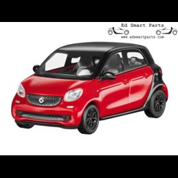 smart forfour 453 1:87 Black/cadmium Red