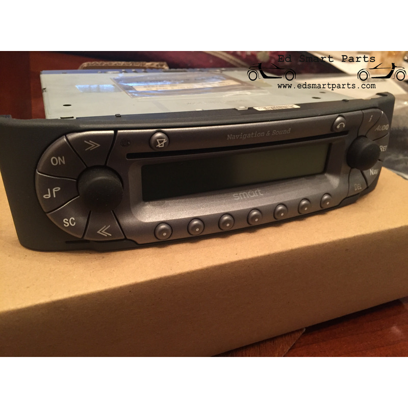 Smart 450 Radio : new genuine smart fortwo 450 navigation sound system ~ Aude.kayakingforconservation.com Haus und Dekorationen