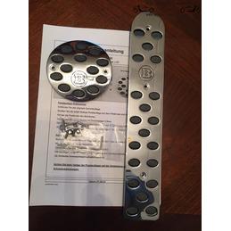Smart fortwo 450 aluminium sportpedalen geborsteld of glanzend chroomaluminium