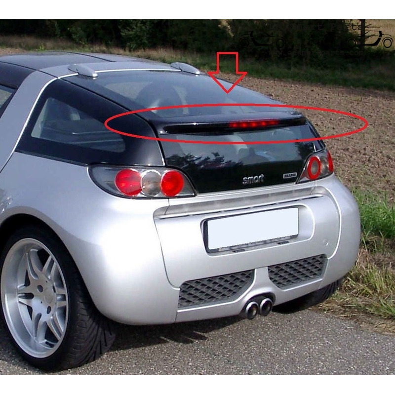 Smart Roadster Coupe rear spoiler