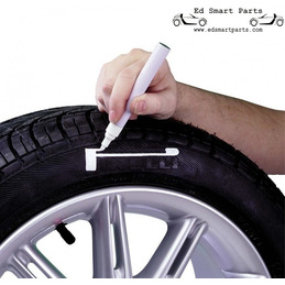 Marqueur de pneu Blanc