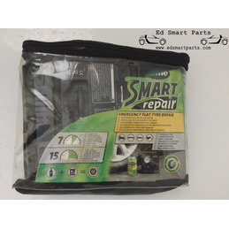 Smart Tyre Repair Kit - Puncture Repair for Cars (Complete Compressor Kit)