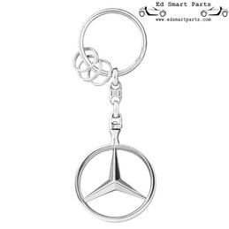 KEYRING BRUSSELS ORIGINAL STAR POLISHED MERCEDES-BENZ COLLECTION