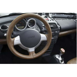 New Smart Roadster Brabus CE Collectors Edition 3 spoke leather sport steering wheel with paddle shift function