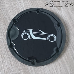 emblem decal for the fuel...