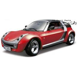 Smart roadster Coupé Red Cabrio 1/18 Bburago