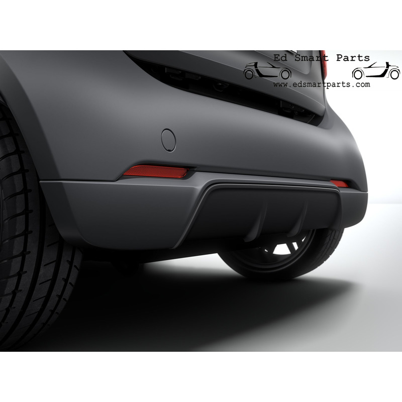 3 front spoilers bumper protector fits Smart fortwo 451