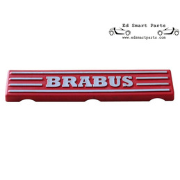 """BRABUS"" motor decor plaat..."