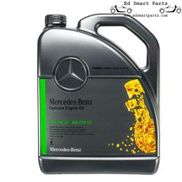 Mercedes 5W-30 Motor Oil MB 229.52 - Fully Synthetic Diesel A000989950213AMEW 1x5L