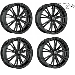 MSW X2 Wheels Gloss Black...