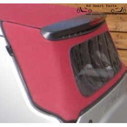 Folding roof canvas rear...