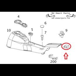 Smart Roadster screw centre...