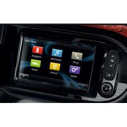 CAMÉRA VIDEO INTERFACE SMART fortwo / forfour 453