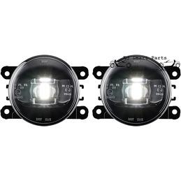 Black / Smoke LED Foglight set Smart Fortwo ForFour 453