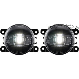 Zwart / Smoke LED Foglight...