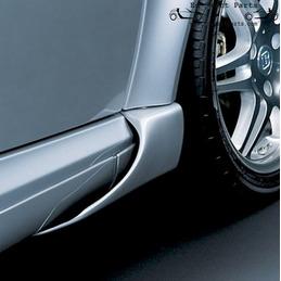 Smart fortwo Coupe 450 BRABUS retalhos frontais definidos para esquerda e direita