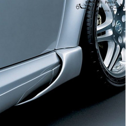Smart fortwo Coupe 450 BRABUS Front Side Flaps für links und rechts