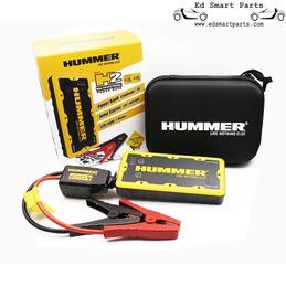 Hummer H2 Mini Jumpstarter / Chargeur 12.000mAh + Lumière LED