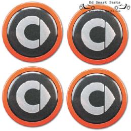 Smart BRABUS Orange Wheel...